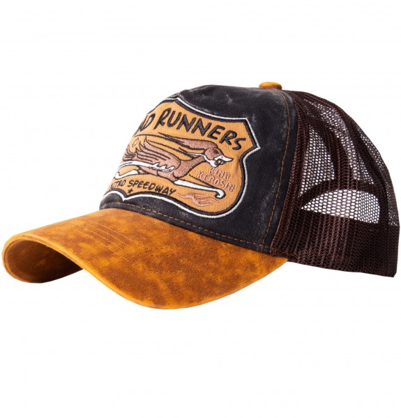 KING KEROSIN Trucker Cap »Road Runners« mit witziger Stickerei Road Runners