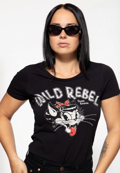 Basic T-Shirt »Wild Rebel«