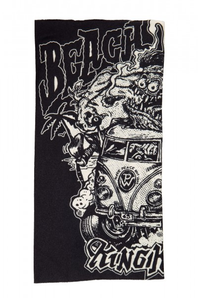 Multifunktions-Tunnel aus Coolmax mit Monster-Print »Beach dudes«