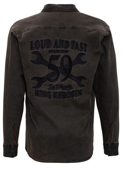 Hemd im Workwear-Stil »Loud and Fast«