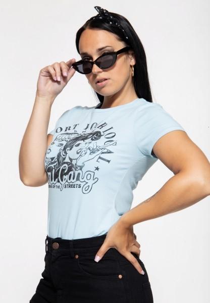 Basic T-Shirt »Girl Gang«