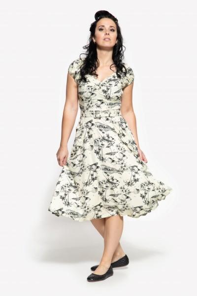 50s Swing Kleid