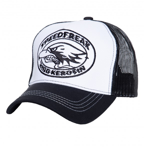 KING KEROSIN Trucker Cap »Speedfreak« mit seitlichem Patch, 2-farbig Speedfreak