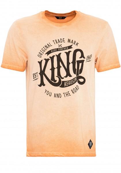 KING KEROSIN T-Shirt in Oil-Washed Optik Est.1969