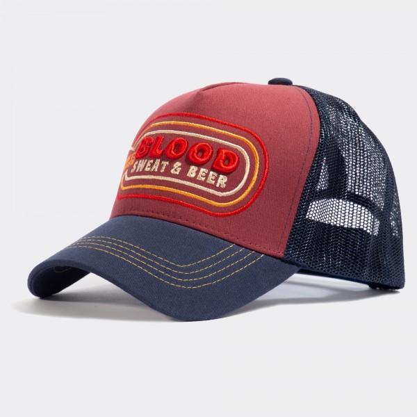 Trucker Cap »Blood Sweat & Beer«