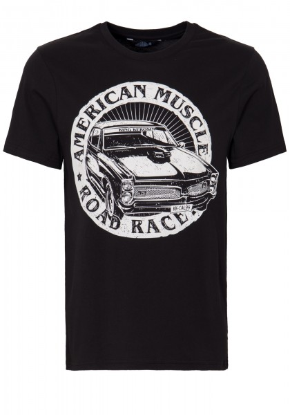 KING KEROSIN T-Shirt mit Front Print »American Muscle« American Muscle