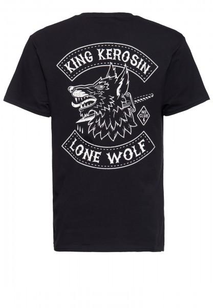 T-Shirt mit Print »Lone Wolf«