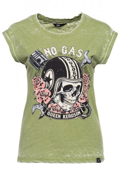 T-Shirt »No Gas No Glory«