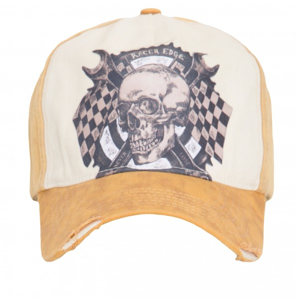 KING KEROSIN Cap mit Skull Print Race Gear