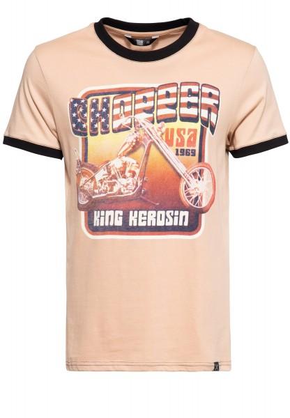 Contrast T-Shirt »Chopper USA«