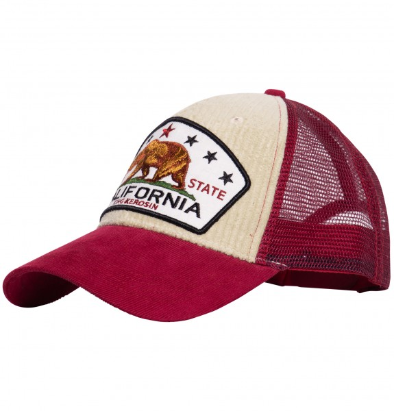Trucker Cap mit Cord »California Bear«
