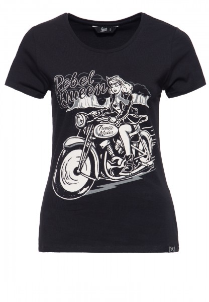 Kurzarm Shirt »Rebel Queen«