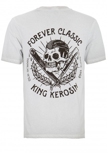 KING KEROSIN T-Shirt mit auffallendem Rückendruck Forever Classic