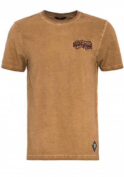 KING KEROSIN T-Shirt im Vintage-Look Hot Rod
