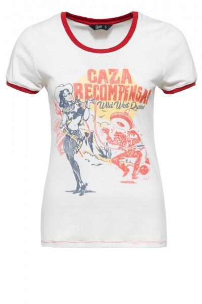 Contrast Shirt mit Cartoon Print »Caza« - Bild