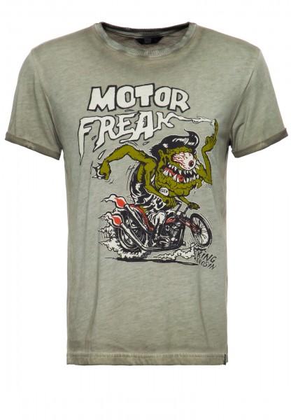 Printshirt »Motor Freak«