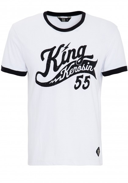 King Kerosin Sports T-Shirt mit Two-Tone Optik