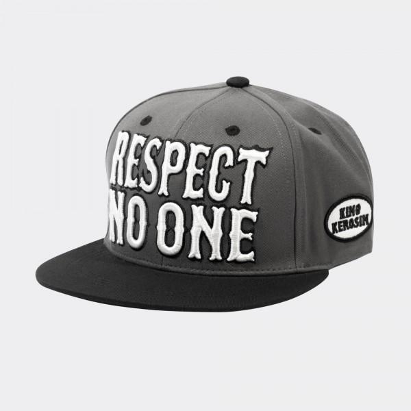 Snapback Cap »Respect no one«