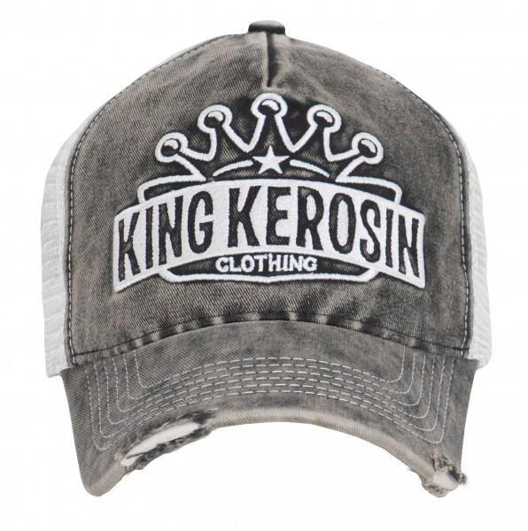 KING KEROSIN Cap im Vintage Look