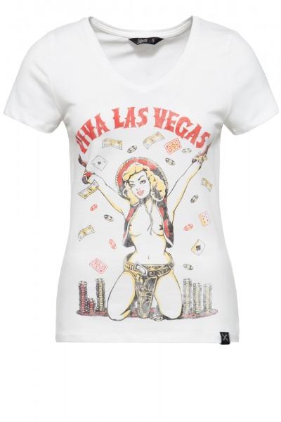 Printshirt »Viva Las Vegas« - Bild