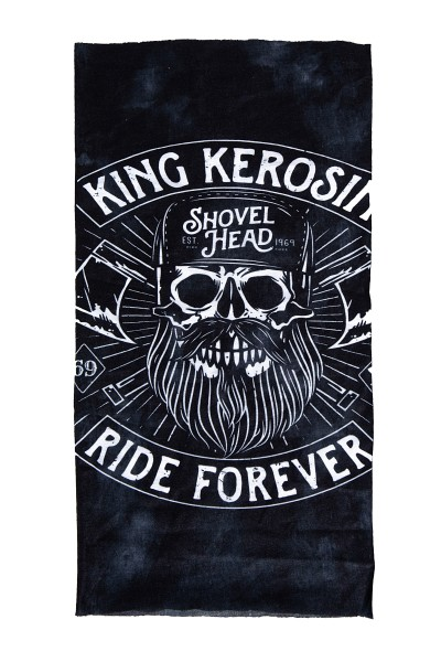 KING KEROSIN Multifunktions-Tunnel mit Print Shovel Head
