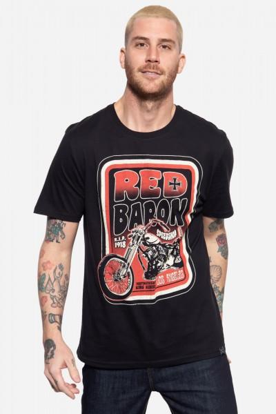 T-Shirt mit Print »Red Baron Speedshop«