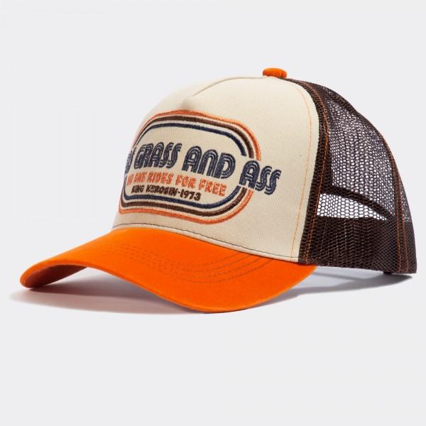 Trucker Cap »Gas Grass and Ass«