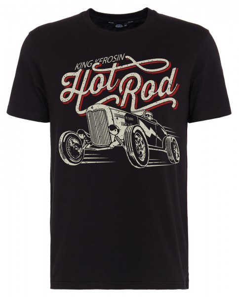 KING KEROSIN T-Shirt mit Front Print »Hot Rod« Hot Rod