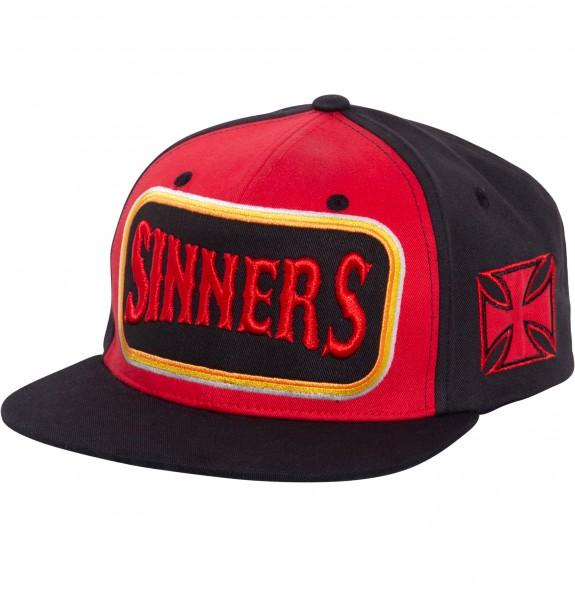 Flatbrim Cap »Sinners 3D«