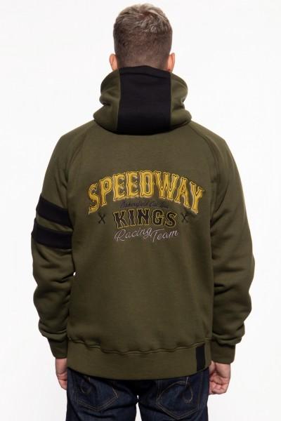Adventure Gear Sweatjacke mit separatem Softshell-Innenfutter »Speedway Kings«