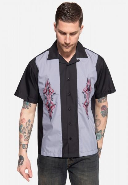Loungehemd »Pinstripes«