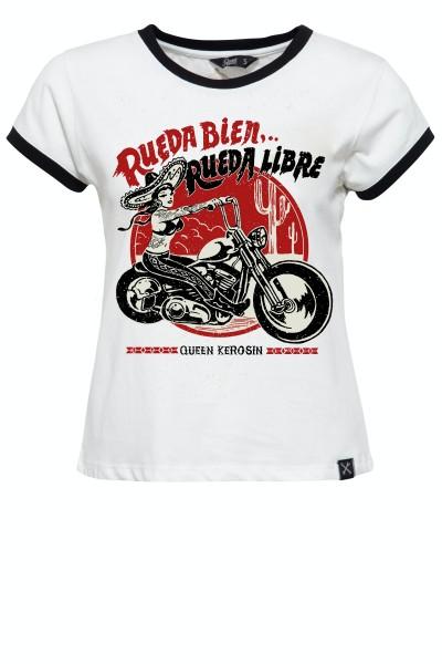 Contrast Shirt »Rueda Libre«