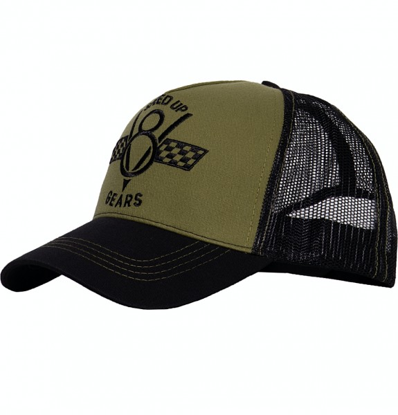 Trucker Cap »Speed Up Gears«