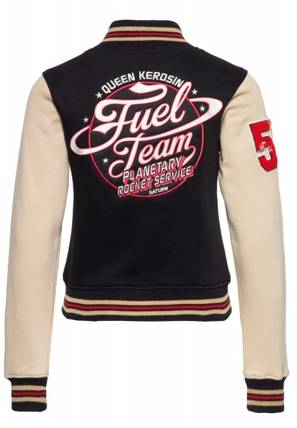 College Sweatjacke »Fuel Team«