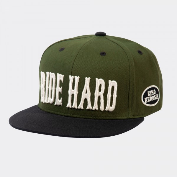 Snapback Cap »Ride Hard FTW«