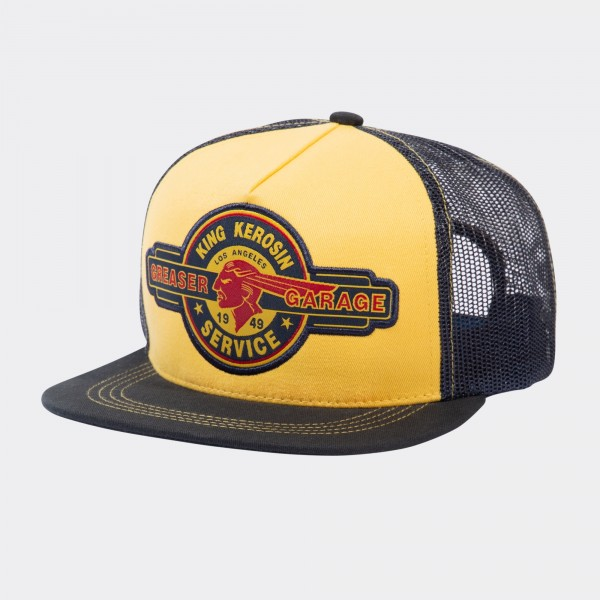 Snapback Mesh Cap »Greaser Garage«