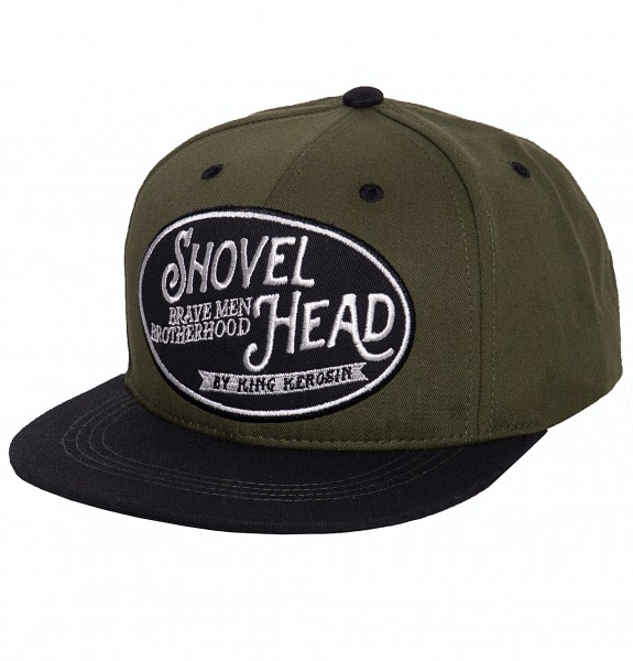 Snapback Cap »Shovel Head«