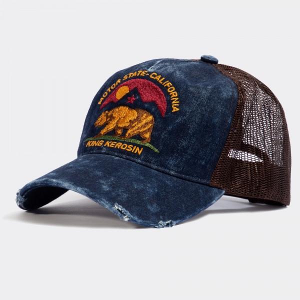 Trucker Cap im Used-Look »Motor State California«