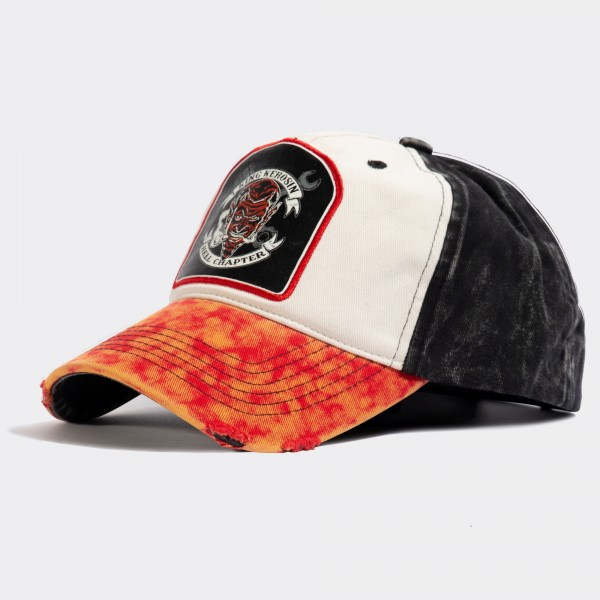Baseball Cap im Used-Look »Hell Chapter«