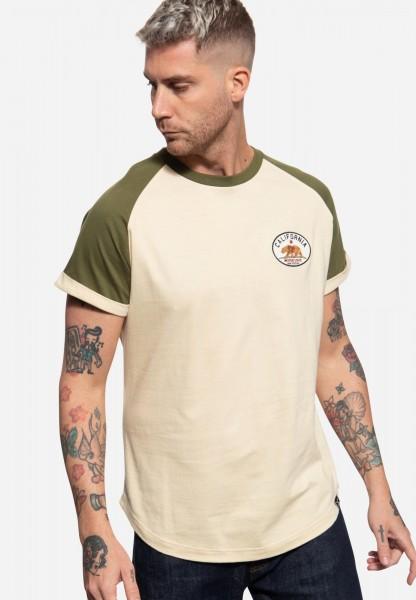 T-Shirt mit Raglan-Design »California Bear«