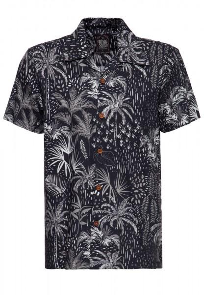 Hawaii Hemd »Abstract Palms«