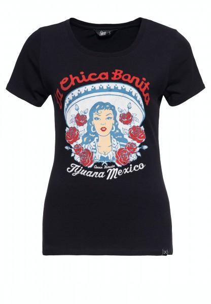 Slim Fit T-Shirt »La Chica Bonita«