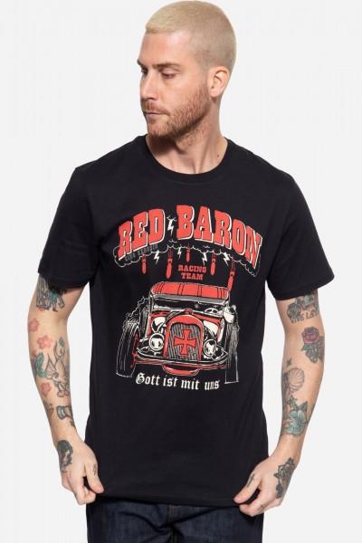 T-Shirt mit Print »Gott ist mit uns«