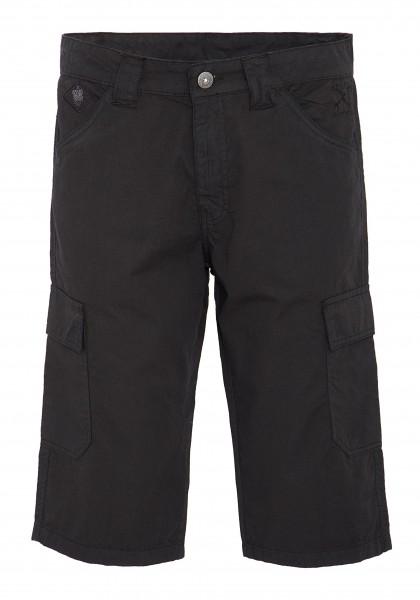 King Kerosin Workwear Shorts mit aufgesetzten Taschen