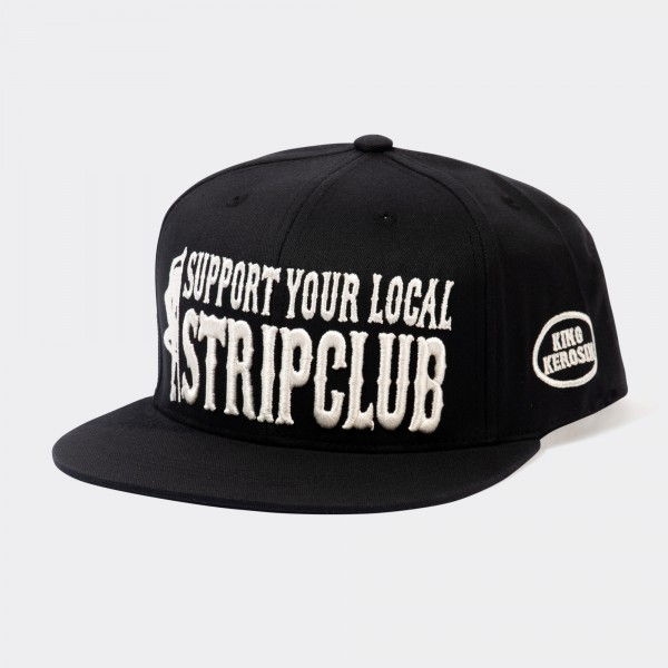 Snapback Cap »Support your local Stripclub«