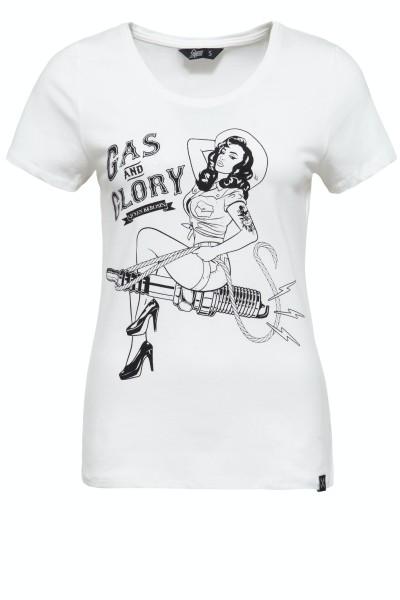 T-Shirt »Gas & Glory«