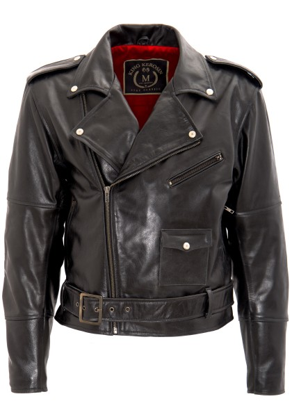KING KEROSIN Classic Lederjacke » The Wild One « The Wild One
