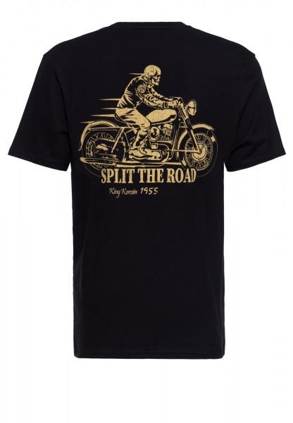 Baumwoll T-Shirt mit Prints »Ghost Rider«