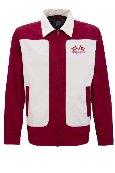 Gabardine Jacke im Vintagestyle