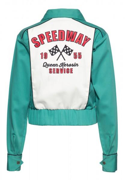 Gabardine Jacke »Speedway Queen«